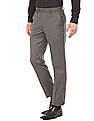 Excalibur Flat Front Slim Fit Trousers