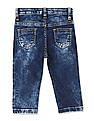 Donuts Boys Mid Rise Stone Wash Jeans