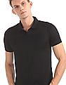 Arrow Newyork Mesh Panel Short Sleeve Polo Shirt