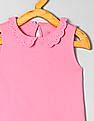 GAP Toddler Girl Pink Eyelet Collar Tank Top