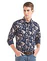 Izod Slim Fit Floral Print Shirt