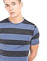 Cherokee Heathered Striped T-Shirt