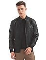 U.S. Polo Assn. Denim Co. Quilted Panel Biker Jacket