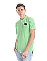 Flying Machine Regular Fit Solid Polo Shirt