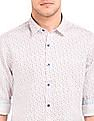 Flying Machine Heart Print Slim Fit Shirt