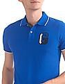 Gant G Application Pique Short Sleeve Rugger Polo Shirt