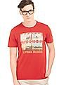 Arrow Sports Printed Regular Fit T-Shirt