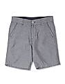 Cherokee Boys Solid Cotton Shorts