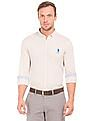 U.S. Polo Assn. Button Down Knit Shirt