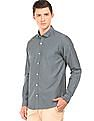 Roots by Ruggers Two Tone Contemporary Fit Shirt