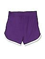 The Children's Place Boys Purple Solid Shorts