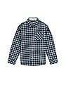 FM Boys Boys Button Down Check Shirt